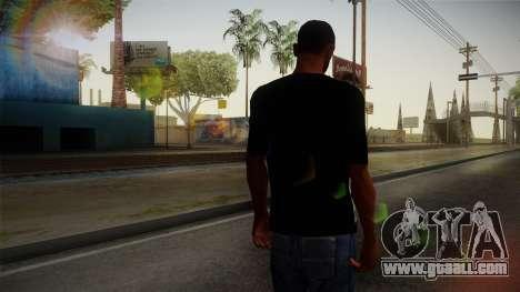 Eminem T-Shirt for GTA San Andreas second screenshot