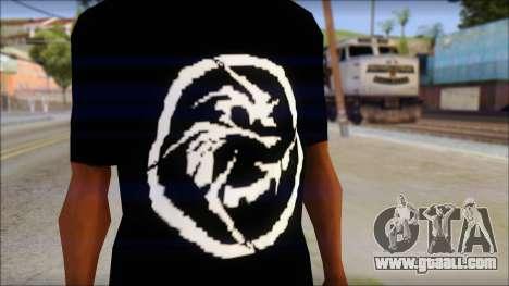 E Logo T-Shirt for GTA San Andreas third screenshot