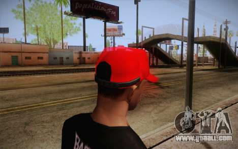 Super Mario Cap for GTA San Andreas second screenshot
