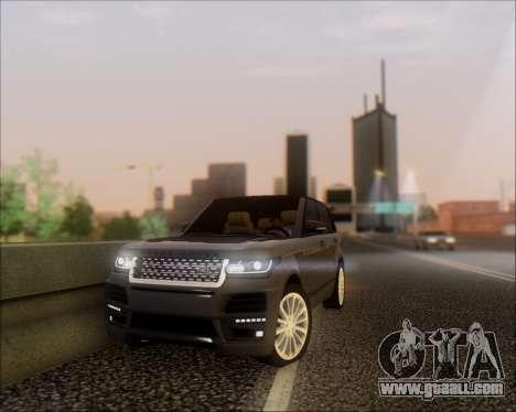 Land Rover Range Rover Startech for GTA San Andreas