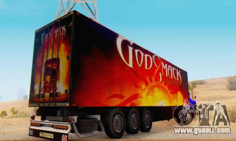 Godsmack - 1000hp Trailer 2014 for GTA San Andreas right view