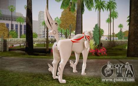 Amaterasu Okami for GTA San Andreas second screenshot
