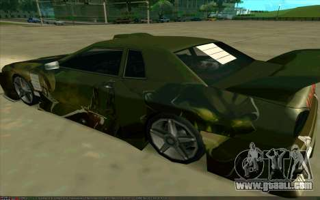 Paint work Pudge (Dota 2) for Elegy for GTA San Andreas left view