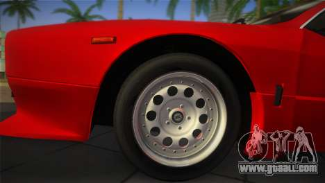 Lancia Rally 037 1982 for GTA Vice City right view