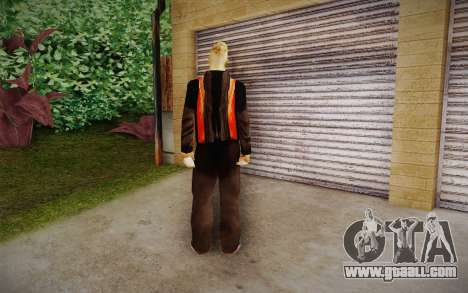 Corey Taylor Skin for GTA San Andreas second screenshot