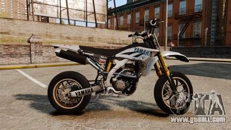 Yamaha YZF-450 v1.6 for GTA 4 left view