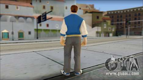 Ted from Bully Scholarship Edition for GTA San Andreas third screenshot