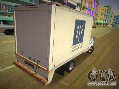 Ford E-350 1988 Cube Truck for GTA Vice City left view