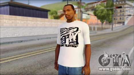 MTV T-Shirt for GTA San Andreas