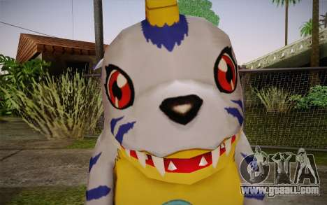 Gabumon for GTA San Andreas third screenshot