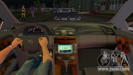 Mercedes-Benz CL65 AMG for GTA Vice City back left view