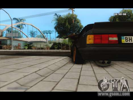 BMW e30 UDC for GTA San Andreas back view