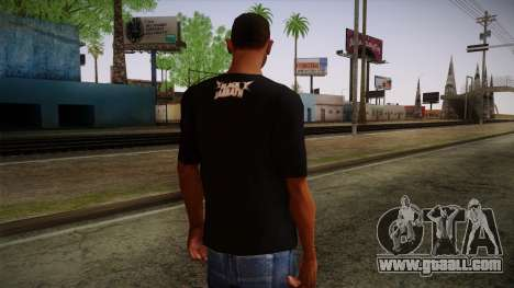 Black Sabbath T-Shirt for GTA San Andreas second screenshot