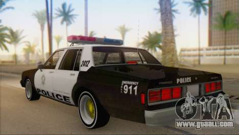 Chevrolet Caprice 1987 for GTA San Andreas left view