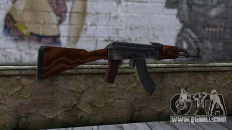 AK47 from CS:GO v2 for GTA San Andreas second screenshot