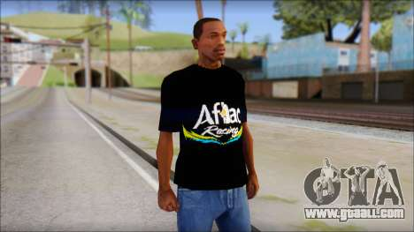 Fictional Carl Edwards T-Shirt for GTA San Andreas