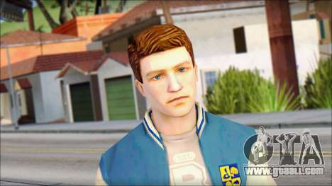 Ted from Bully Scholarship Edition for GTA San Andreas