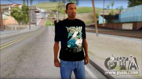Eskimo Callboy Fan T-Shirt for GTA San Andreas