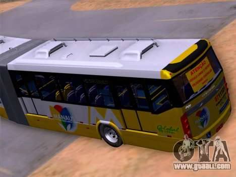 Прицеп Neobus Mega BHNS Volvo B12-340M for GTA San Andreas bottom view