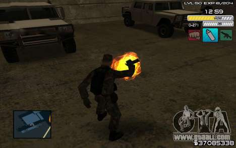 C-HUD by SampHack v.9 for GTA San Andreas third screenshot