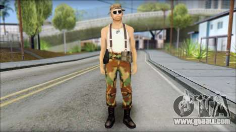 Teniente Armstrong for GTA San Andreas