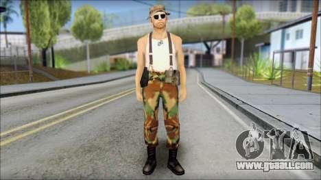 Teniente Armstrong for GTA San Andreas