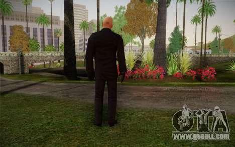 Hitman Blood Money Agent 47 for GTA San Andreas second screenshot