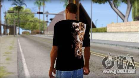 Randy Orton Black Apex Predator T-Shirt for GTA San Andreas second screenshot