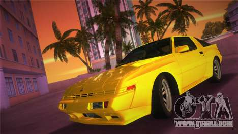 Mitsubishi Starion ESI-R 1986 for GTA Vice City
