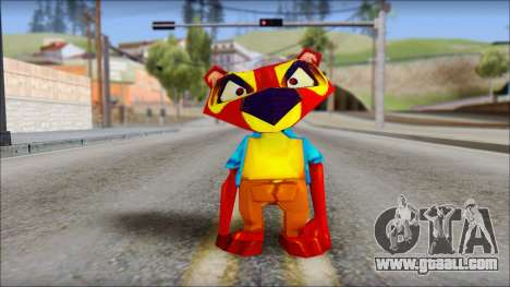 Chang the Firefox from Fur Fighters Playable for GTA San Andreas second screenshot