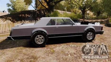 Dundreary Virgo Cliffrider for GTA 4 left view