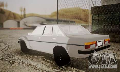 Toyota Cressida 1987 for GTA San Andreas left view