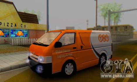 Toyota Hiace TNT Cargo Van 2006 for GTA San Andreas
