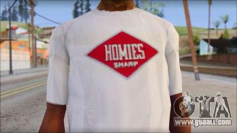 CM Punk T-Shirt for GTA San Andreas third screenshot