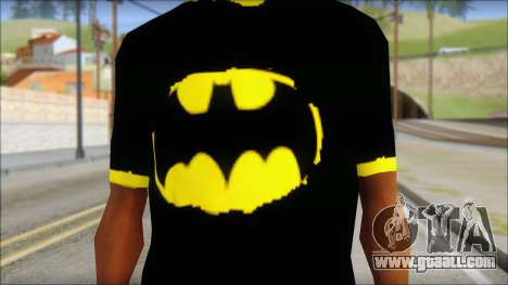 Batman T-Shirt for GTA San Andreas third screenshot