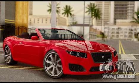 Lampadati Felon GT 1.1 for GTA San Andreas
