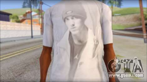 Eminem T-Shirt for GTA San Andreas third screenshot