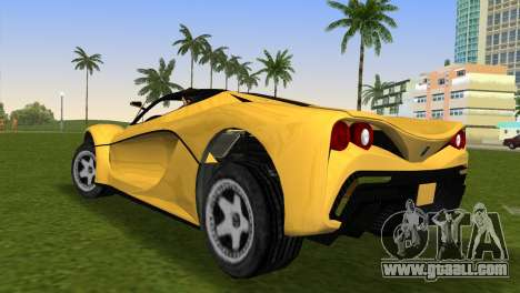 Turismo R from GTA 5 for GTA Vice City left view