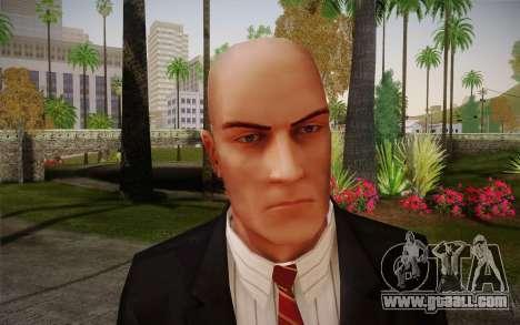 Hitman Blood Money Agent 47 for GTA San Andreas third screenshot