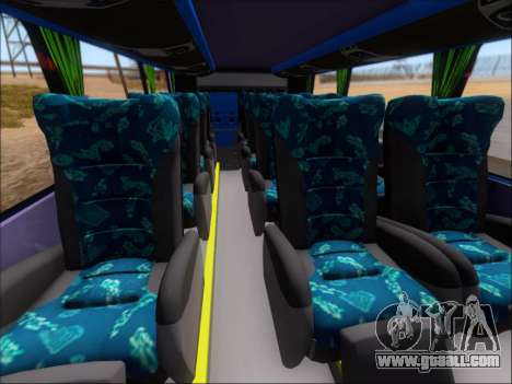 Marcopolo Paradiso G7 1800 DD Inter Sur for GTA San Andreas inner view