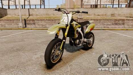 Yamaha YZF-450 v1.16 for GTA 4
