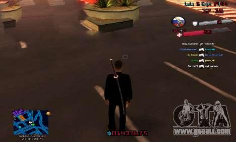 C-HUD by Accord for GTA San Andreas second screenshot