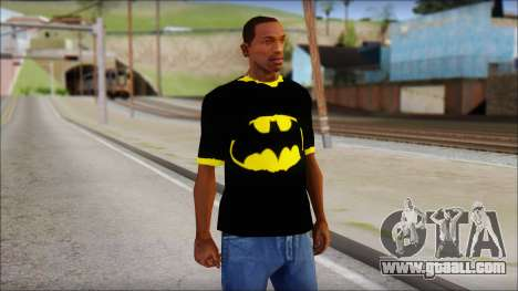 Batman T-Shirt for GTA San Andreas