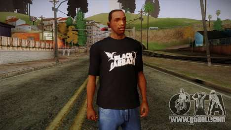 Black Sabbath T-Shirt for GTA San Andreas