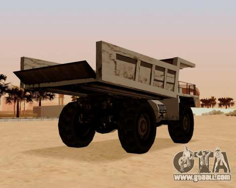 Updated Dumper for GTA San Andreas back left view