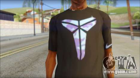Kobie Shirt for GTA San Andreas third screenshot