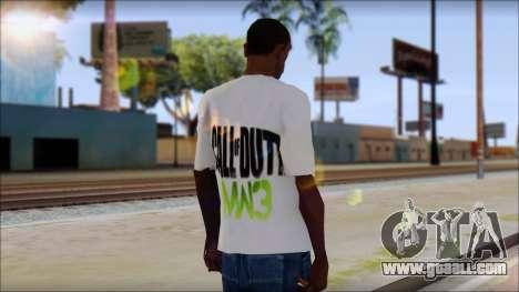 COD MW3 Fan T-Shirt for GTA San Andreas second screenshot