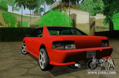 Sultan Coupe for GTA San Andreas right view