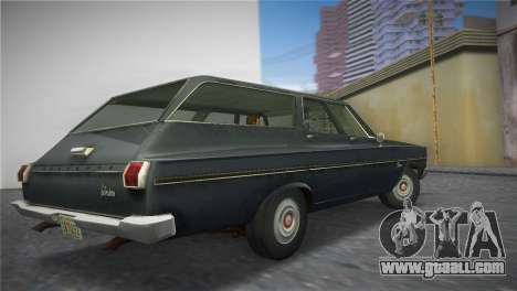 Plymouth Belvedere I Station Wagon 1965 for GTA Vice City left view
