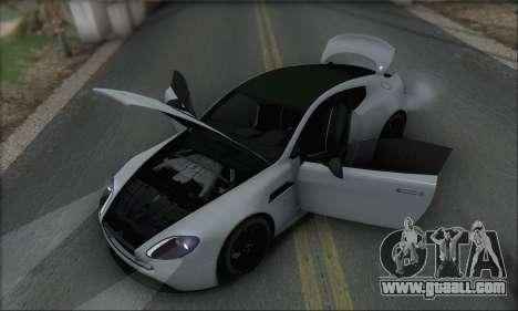 Aston Martin V12 Vantage S 2013 for GTA San Andreas engine